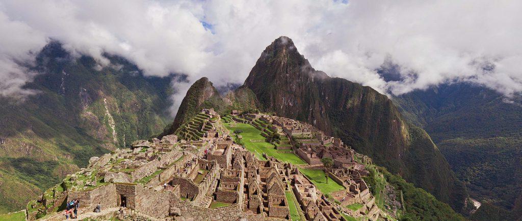 Machu Picchu, Peru. (Airpano/Caters News)