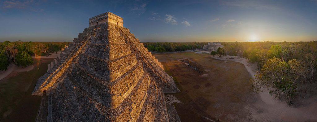 Chichen Itza, Mexico. (Airpano/Caters News)