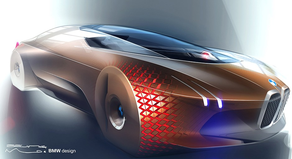 BMW's 'Vision 100' Is Concept Car Of The Future