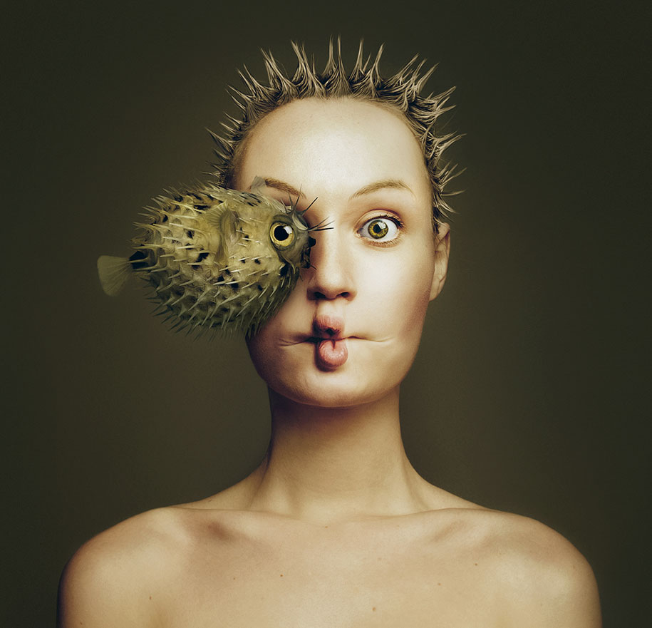 GRC-Photography Amazing self portraits photography