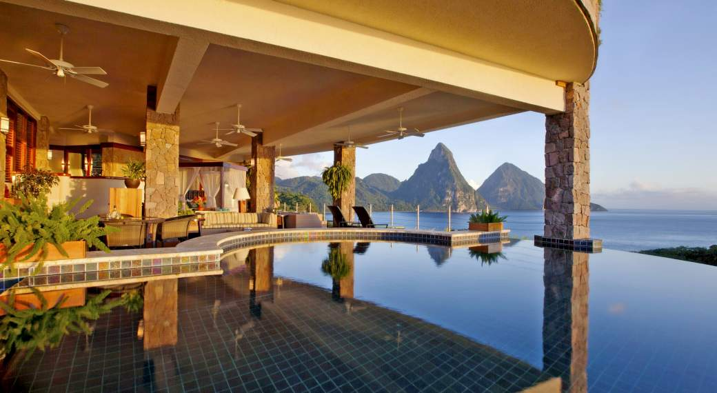 Jade Mountain Resort)