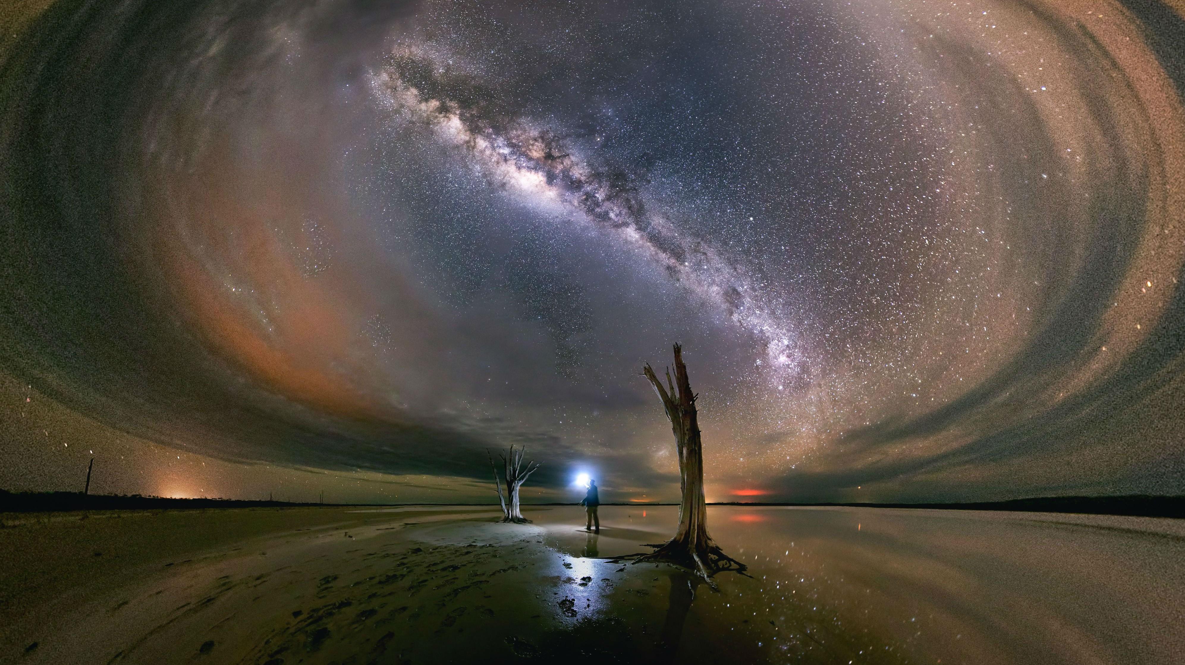 Milky Way Selfie