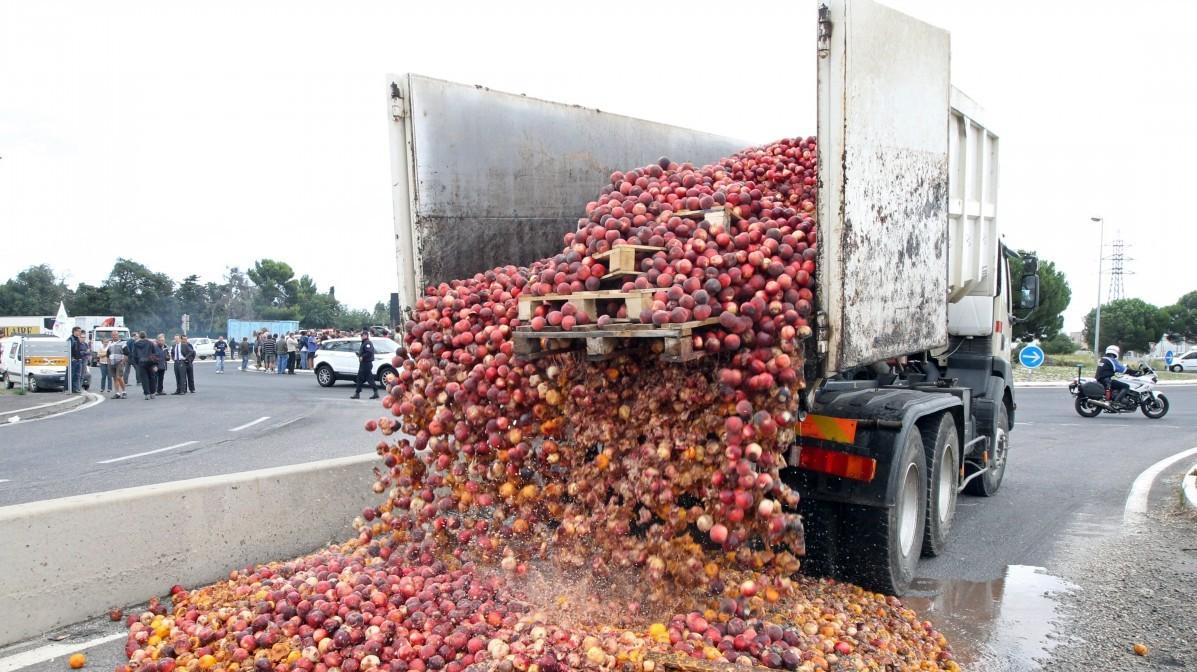 Food Truck Spill