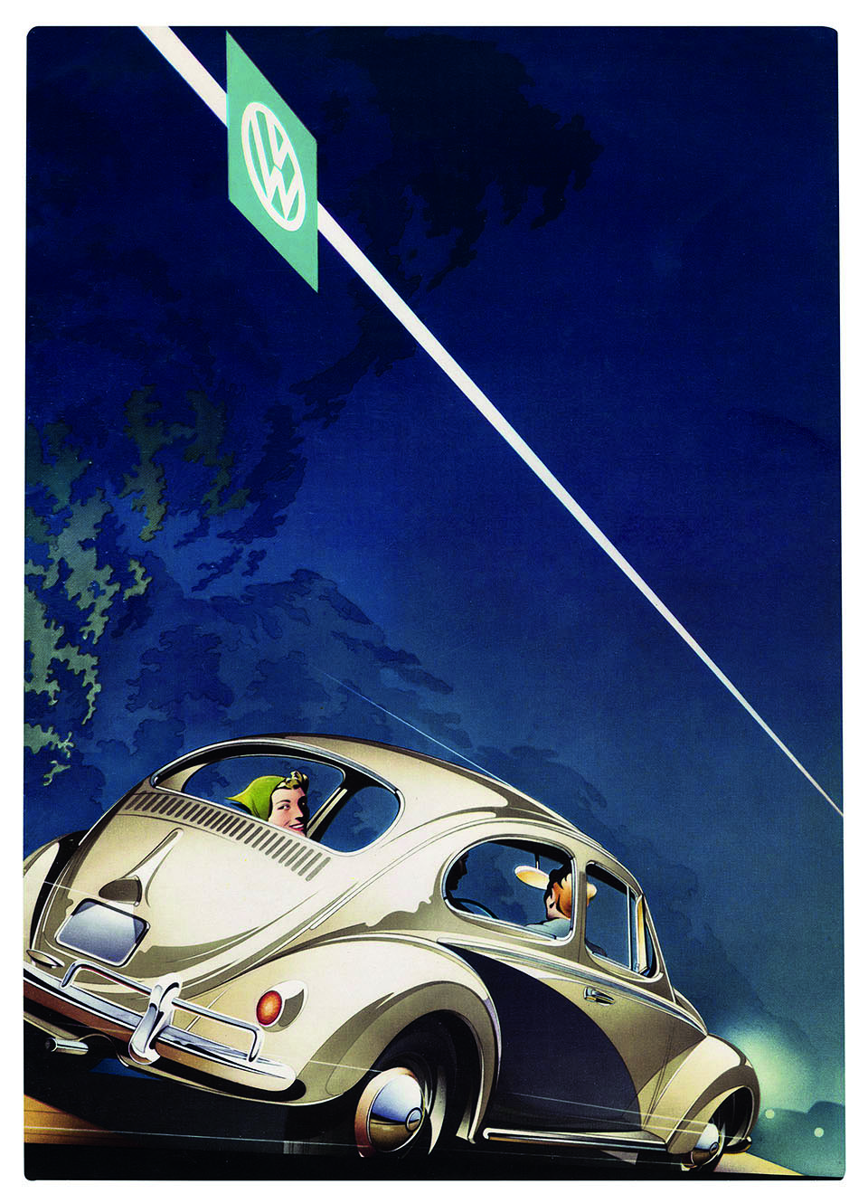 Volkswagen, 1957 (Courtesy of Jim Cherry)