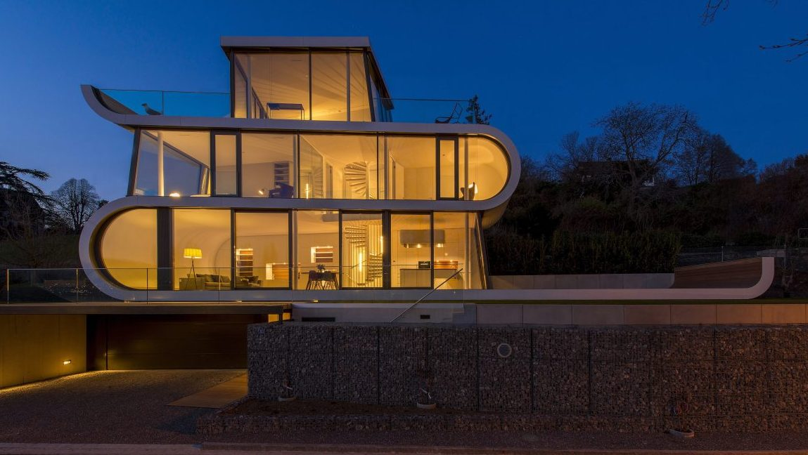 39 Flexhouse 39 Provides A 180 Degree View Of Lake Zurich
