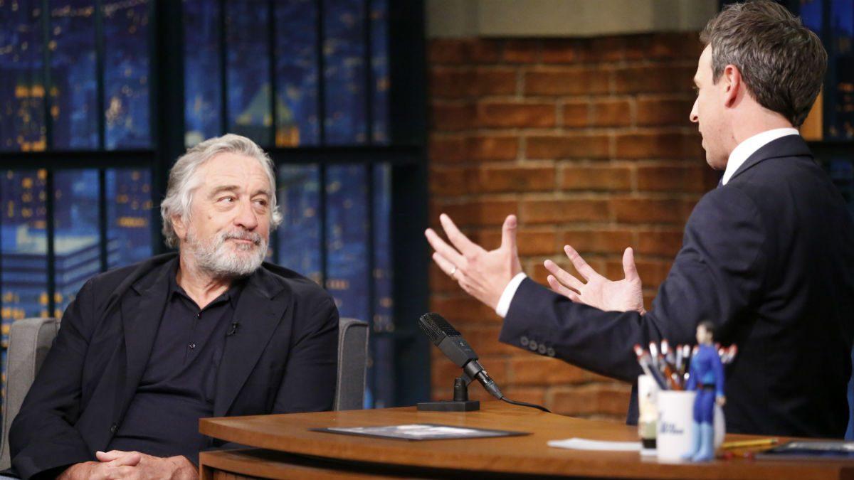 Robert De Niro Celebrates Birthday With Roberto Duran, Christopher Walken