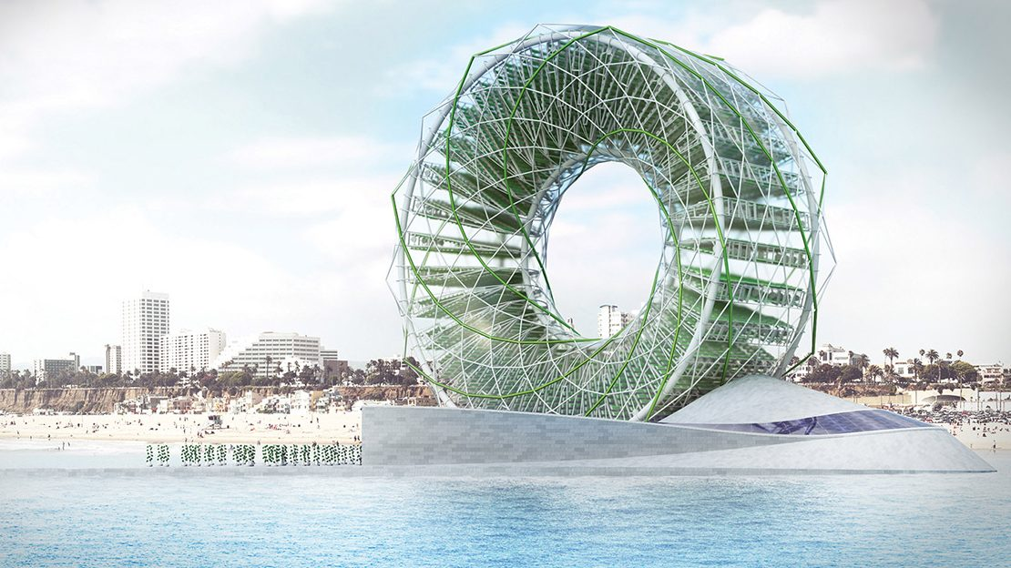 Solar Powered Ring Garden Concept Produces Drinking Water