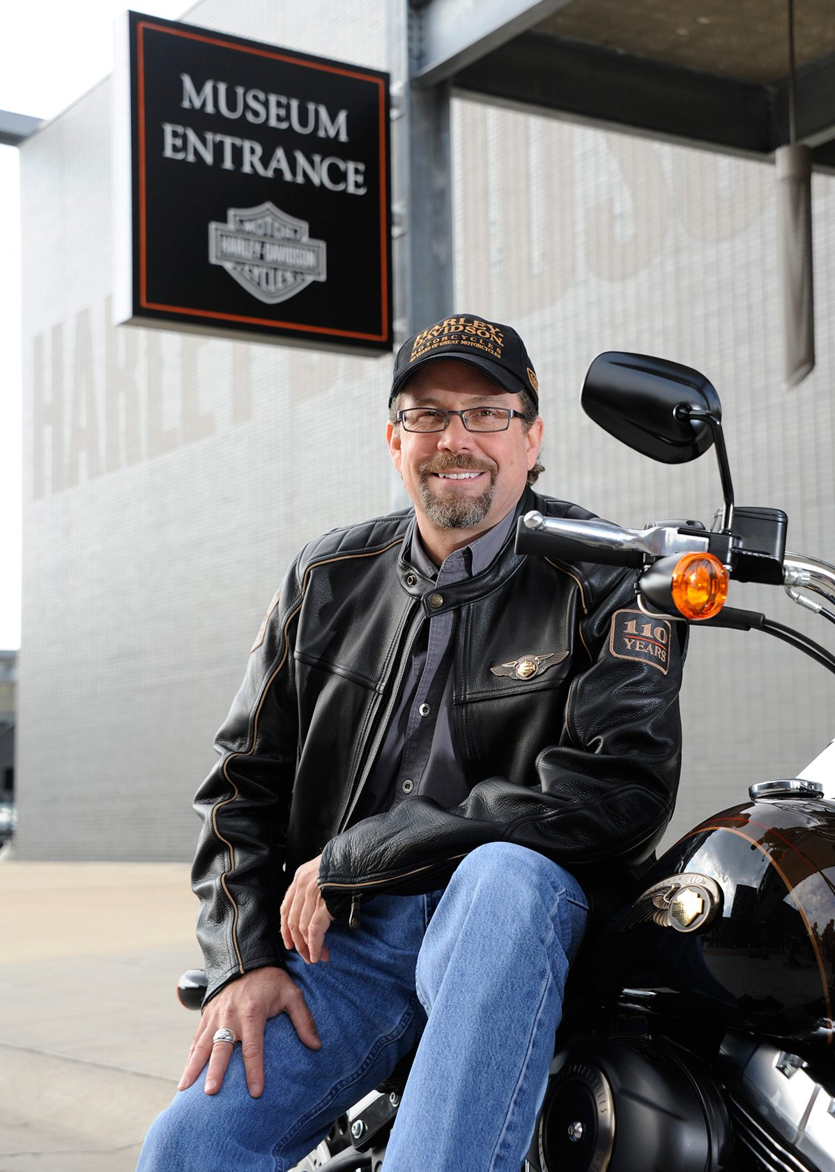 talking hogs, old and new, with the great-grandson of harley