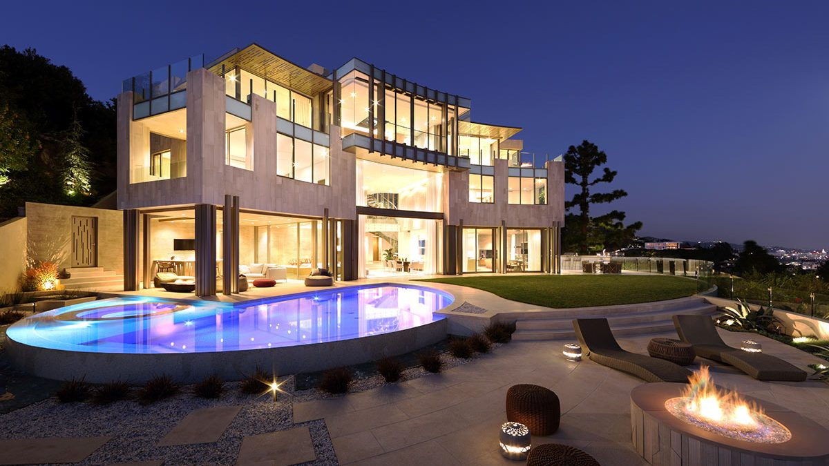 Take a Walk-Through of This $24 Million Beverly Hills Home Designed by Richard Landry