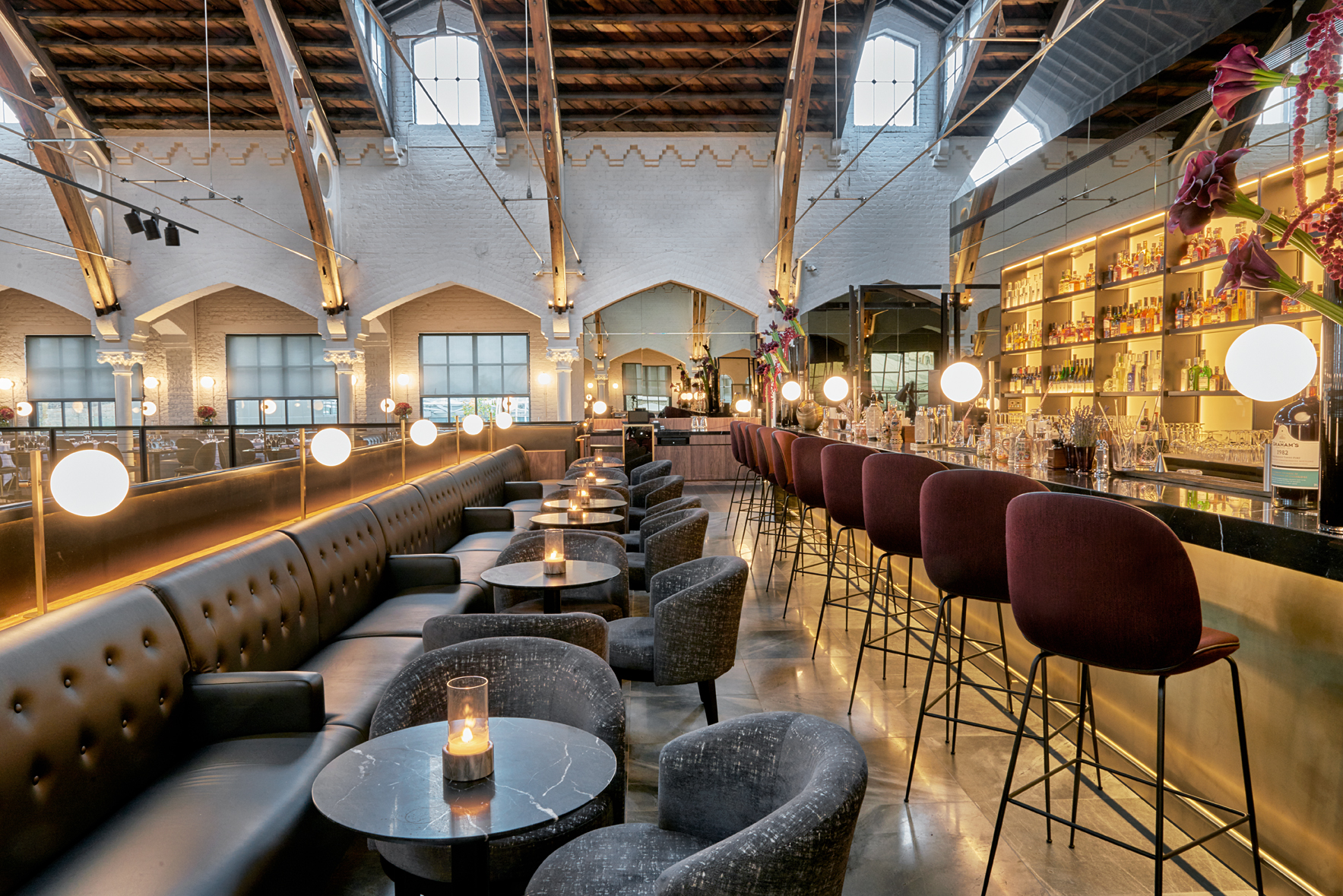 Londons German Gymnasium Wins Top Honors at Restaurant Design Awards