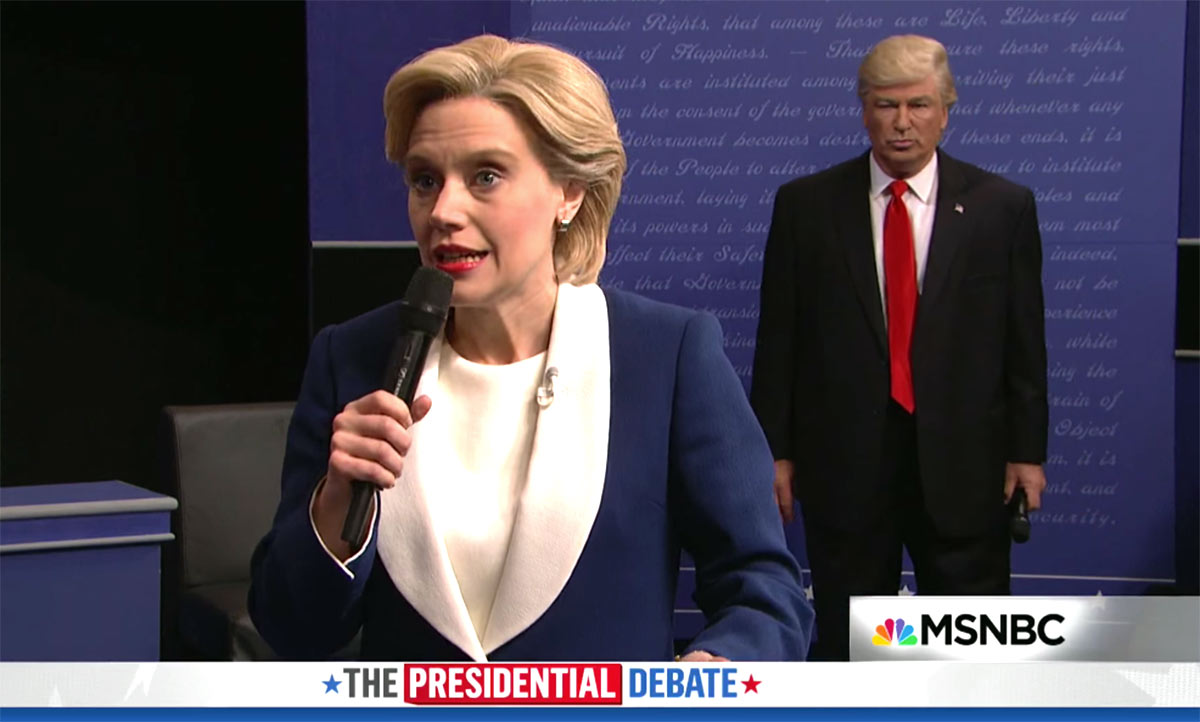 Alec Baldwin Returns to SNL as Donald Trump in Town Hall Debate Spoof