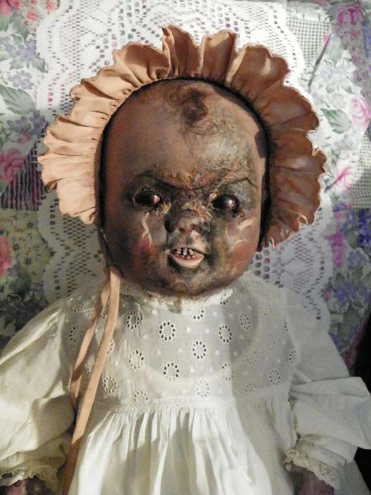 Haunted doll Bessie (eBay)
