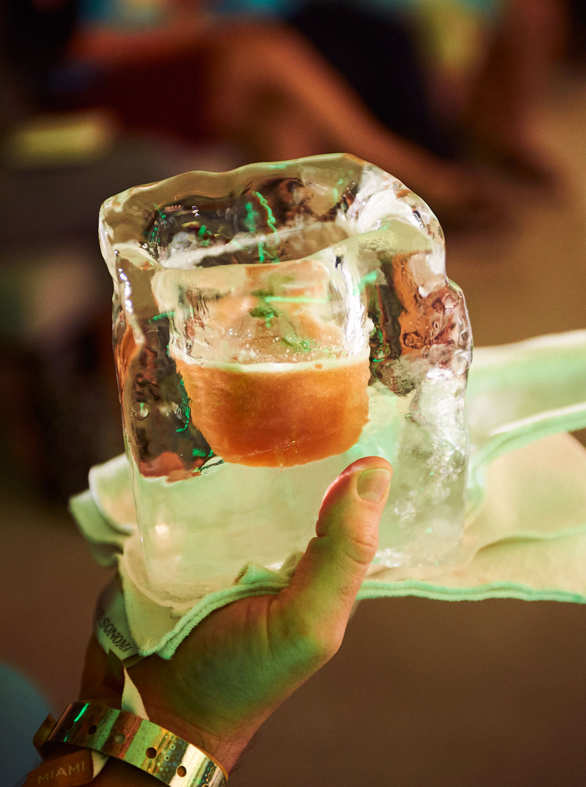 Ice Glass (Courtesy World Class)