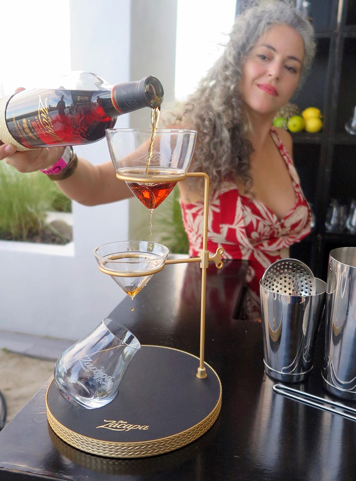 Rum Aerator (Gina Pace)