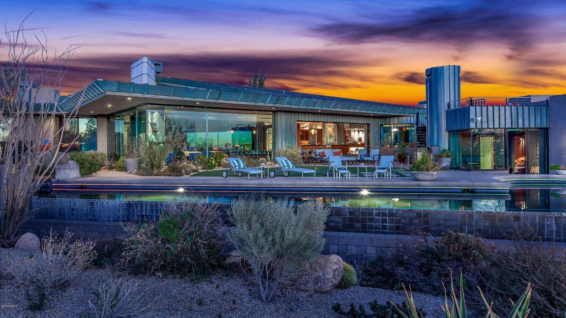 Desert Mansion By Renowned Architect Bing Hu Selling In