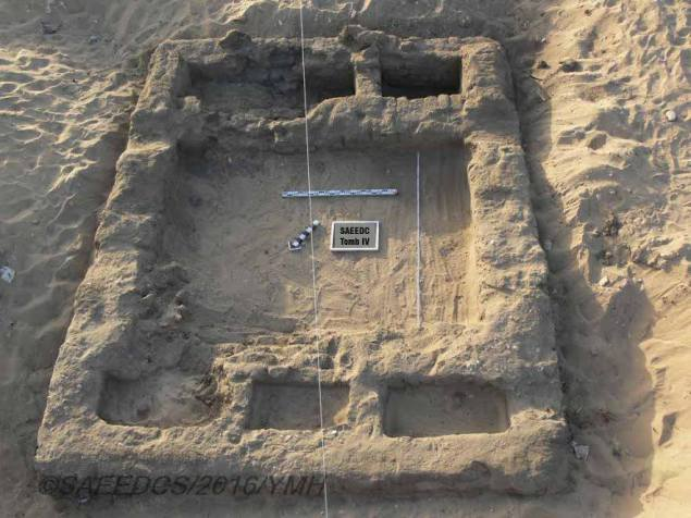 The discovery unearthed sites dating back 7,000 years. (Egypt Antiquities Ministry)