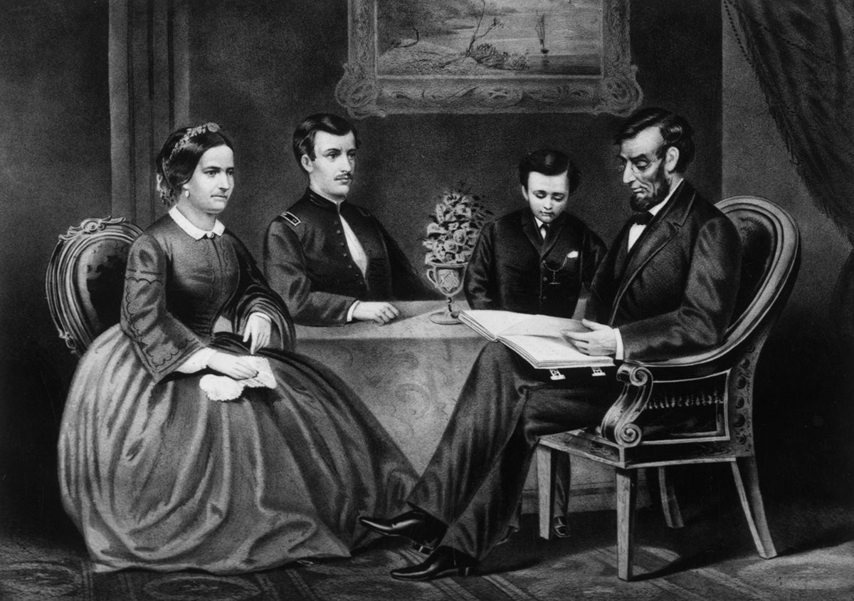 First Lady Mary Todd Lincoln S Hair Plus Honest Abe S