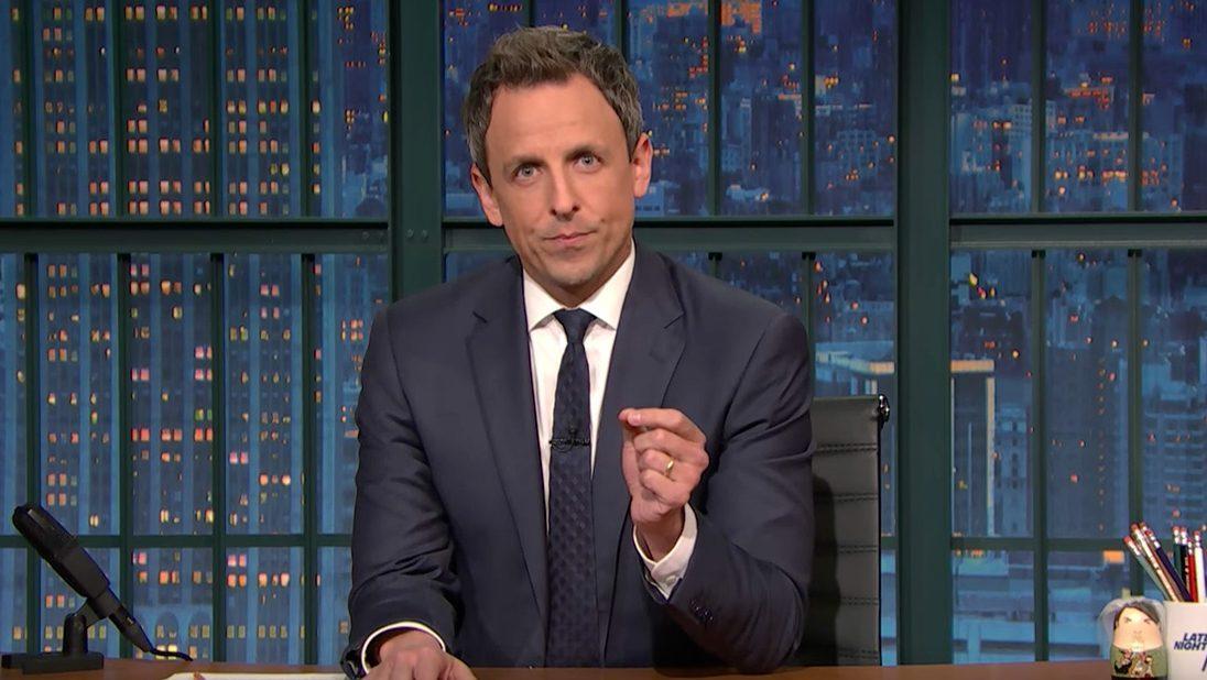 Seth Meyers Examines President Trump's Flip-Flops On Executive Orders