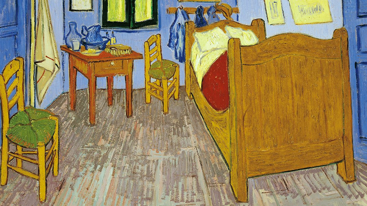 Is The Bed From Vincent Van Gogh S Quot The Bedroom Quot Stowed