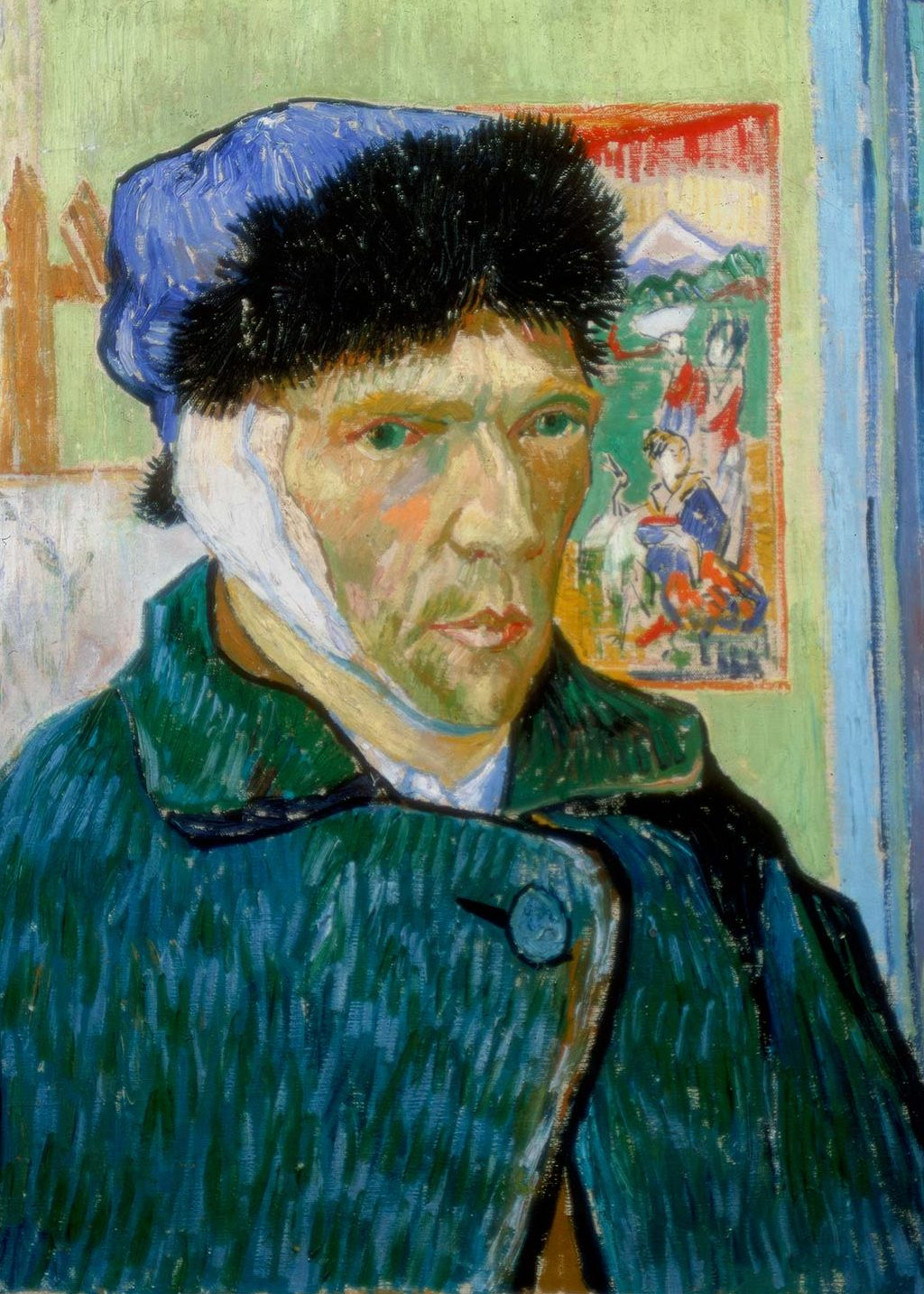 Vincent Van Gogh Cut f His Ear After Learning His