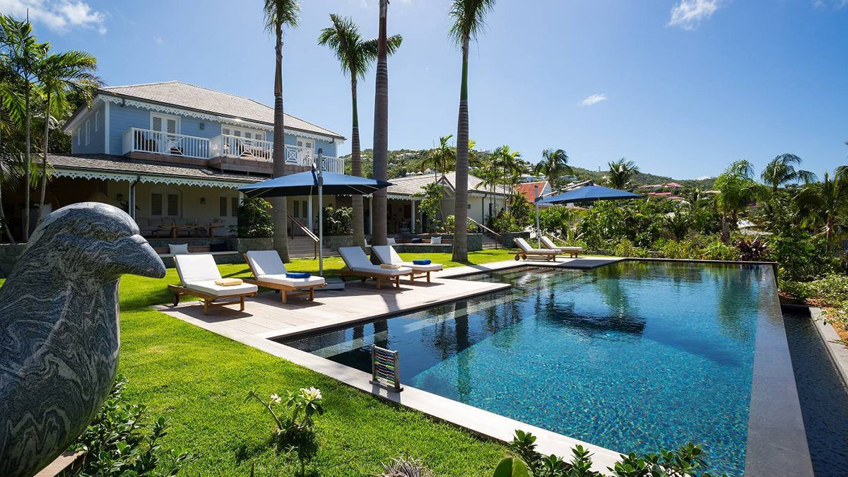 Feel Positively Presidential in Paradise at St. Barth's ...