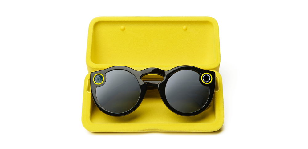 The Spectacles are currently only available via the company's Snapbots (Snap)