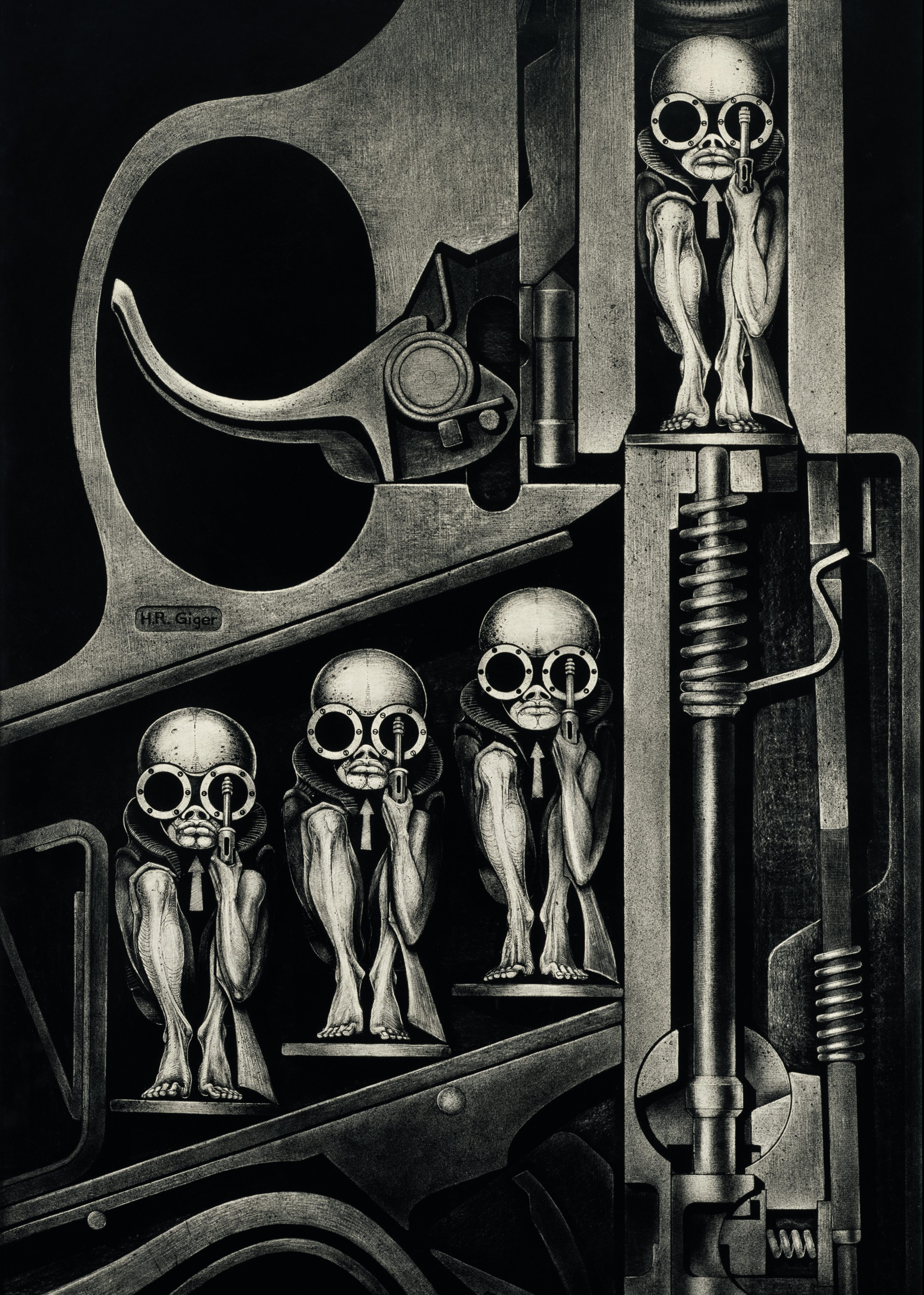 Exploring The Art Of H R  Giger  The Inspiration Behind