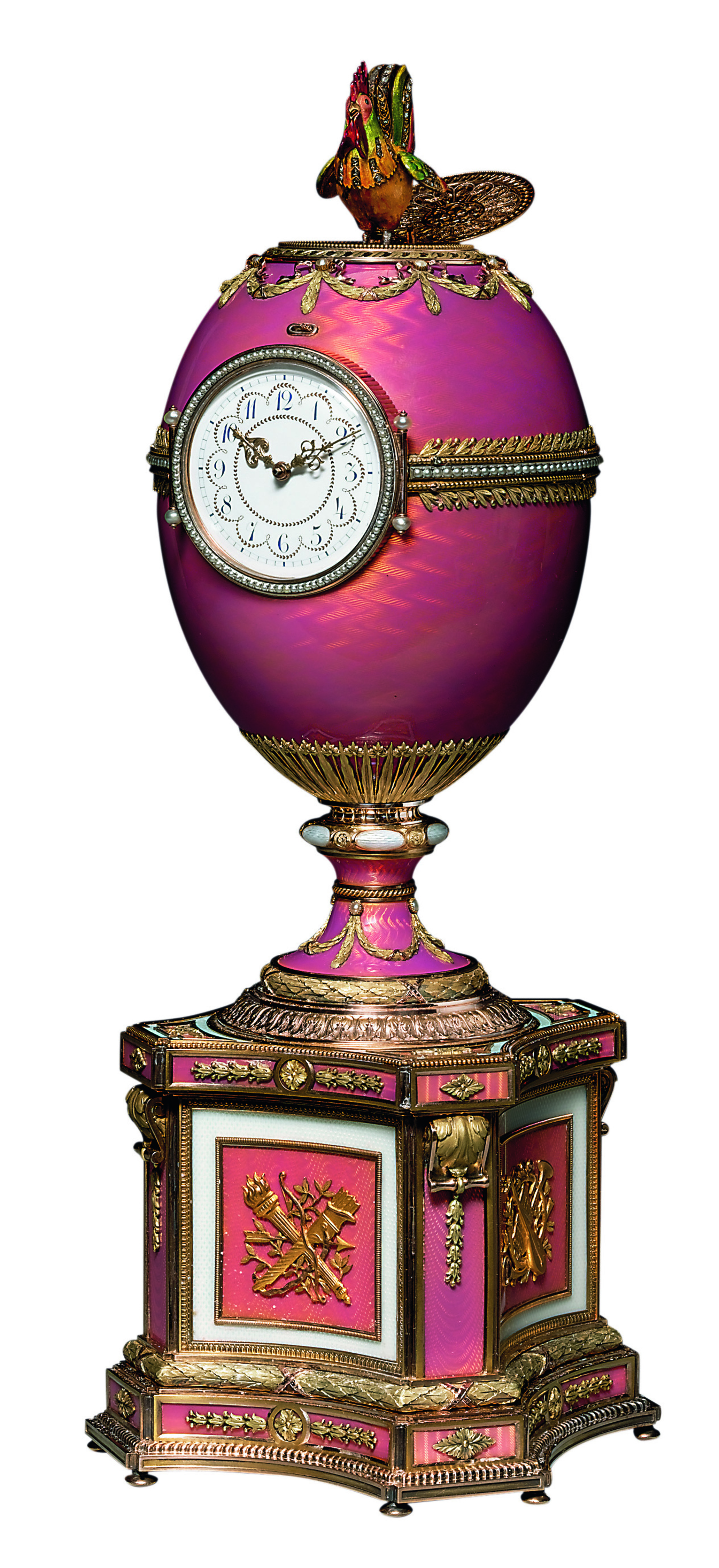 Carl Fabergé, The Rothschild Fabergé Egg, 1902. Sold on November 28, 2007, in London. © Christie's Images Limited 2016