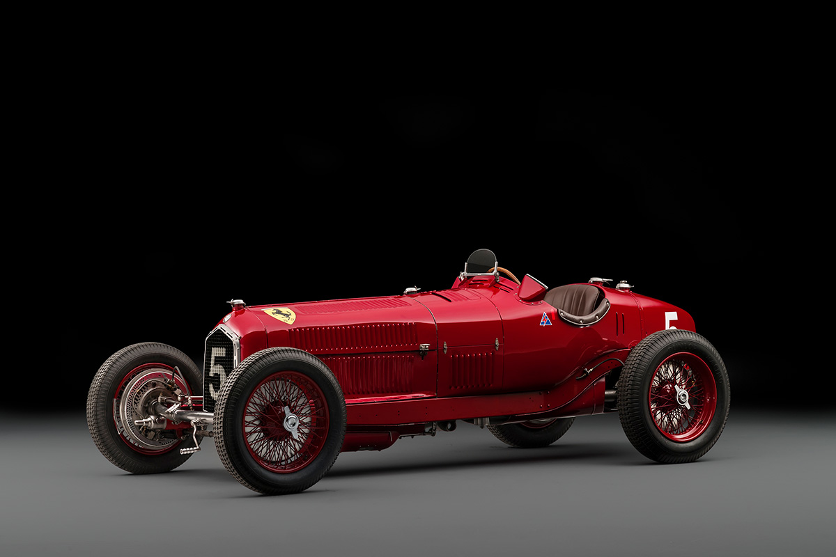 Alfa Romeo Tipo B P3 Set for Auction