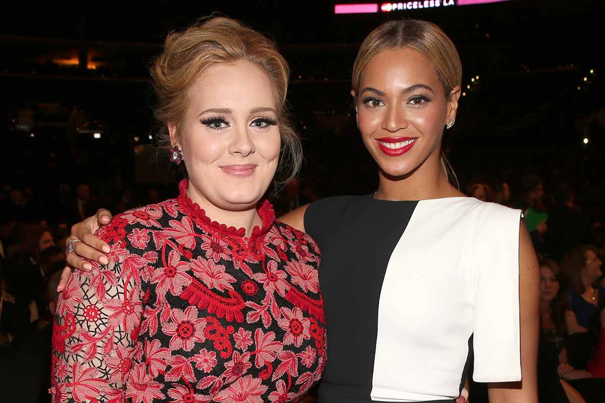 Beyonce and Adele to Duke It Out at the Grammys