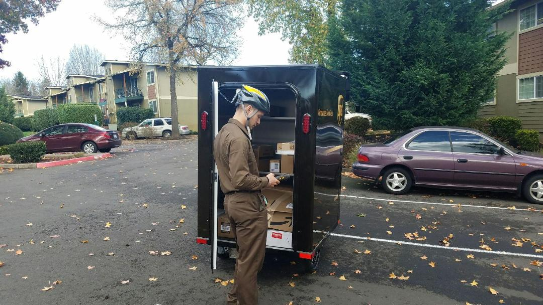 UPS Launches Electric Tricycles for Delivery
