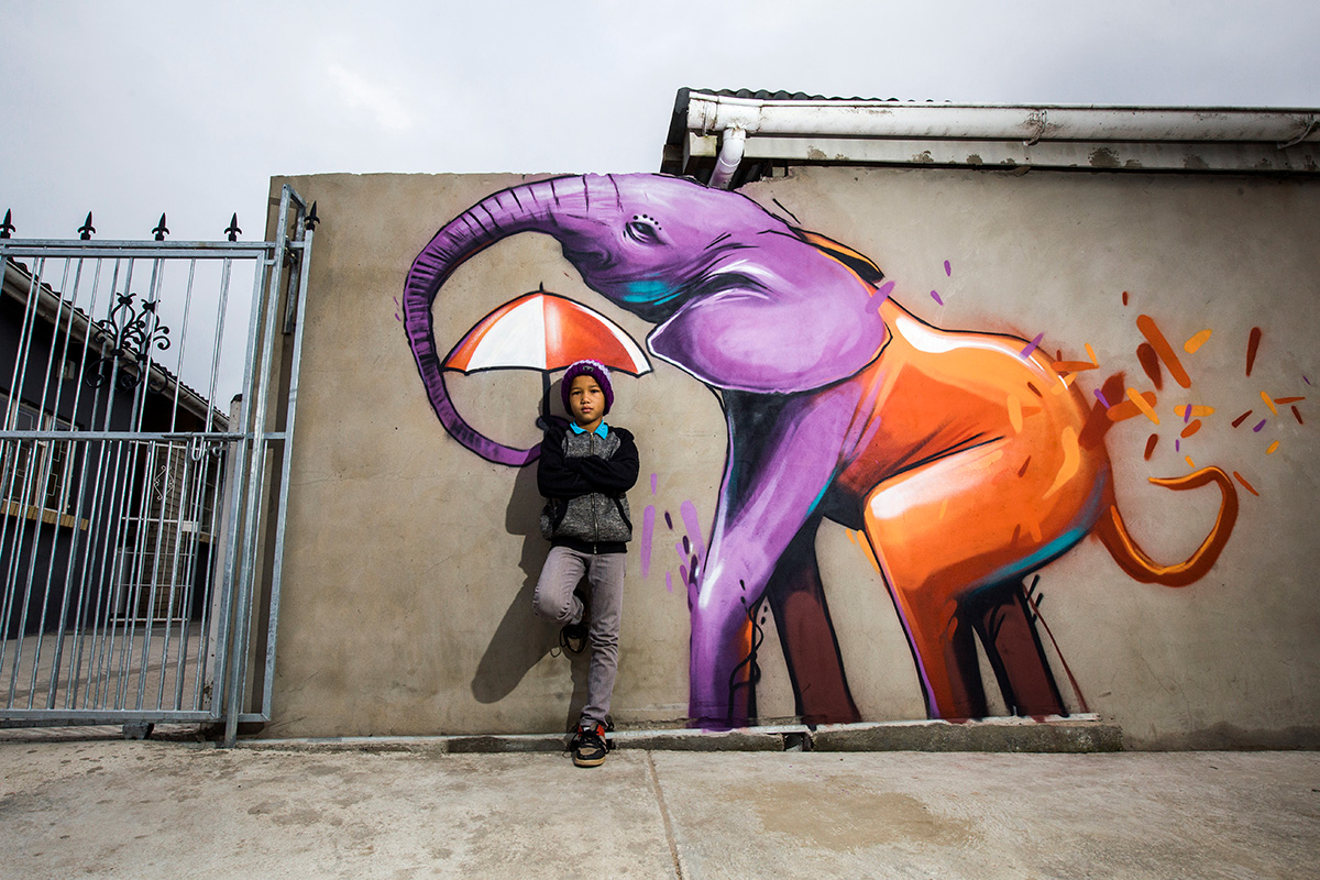 Falko One, South African Street Artist