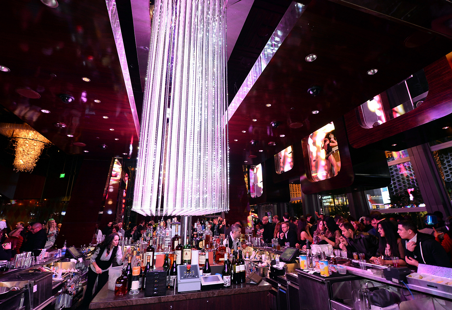 A general view during a New Year's Eve celebration at BOND inside The Cosmopolitan of Las Vegas on January 1, 2014 in Las Vegas, Nevada. (Ethan Miller/WireImage)