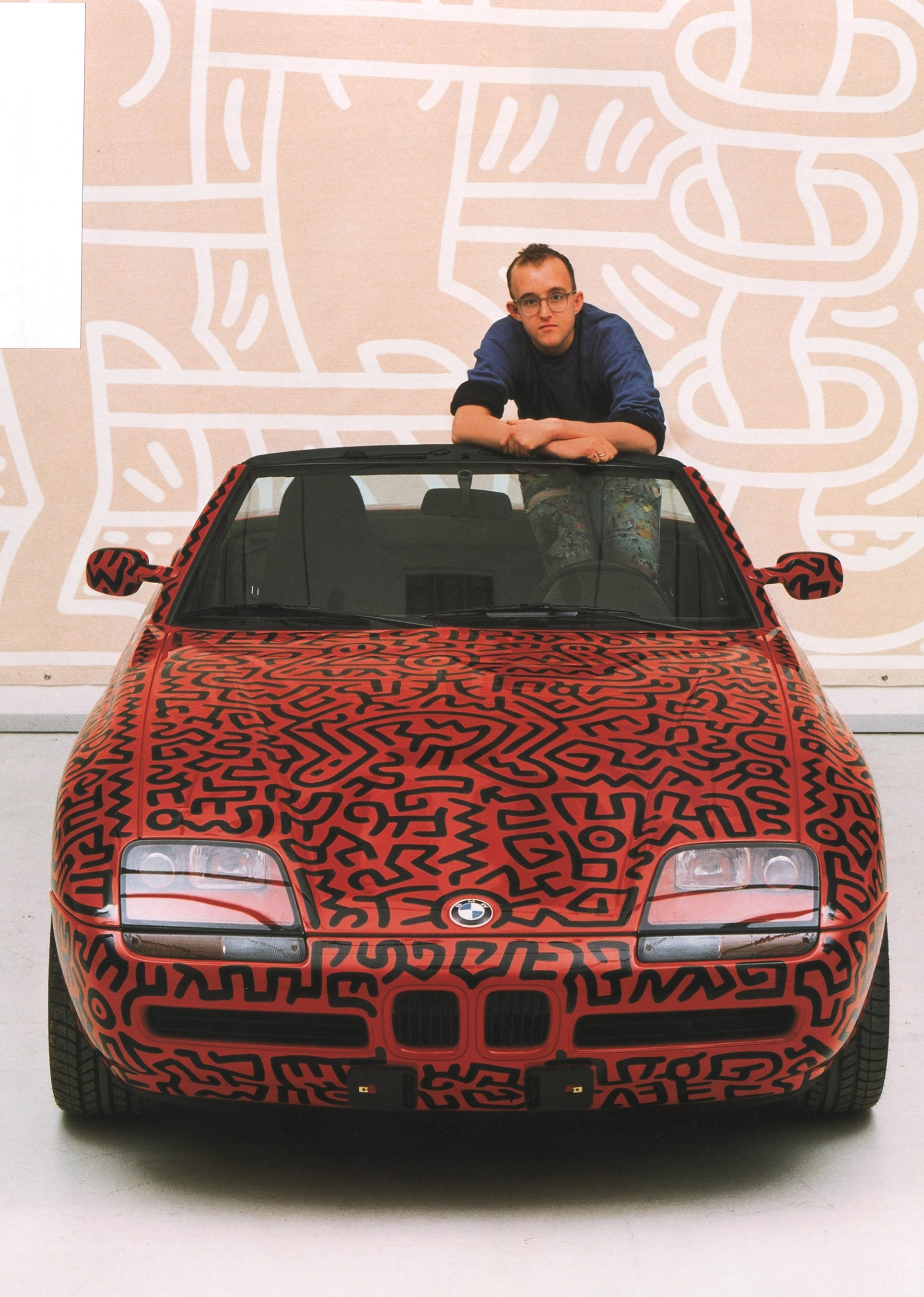 Rare Autos Painted by Keith Haring on Display at the Petersen Automotive Museum