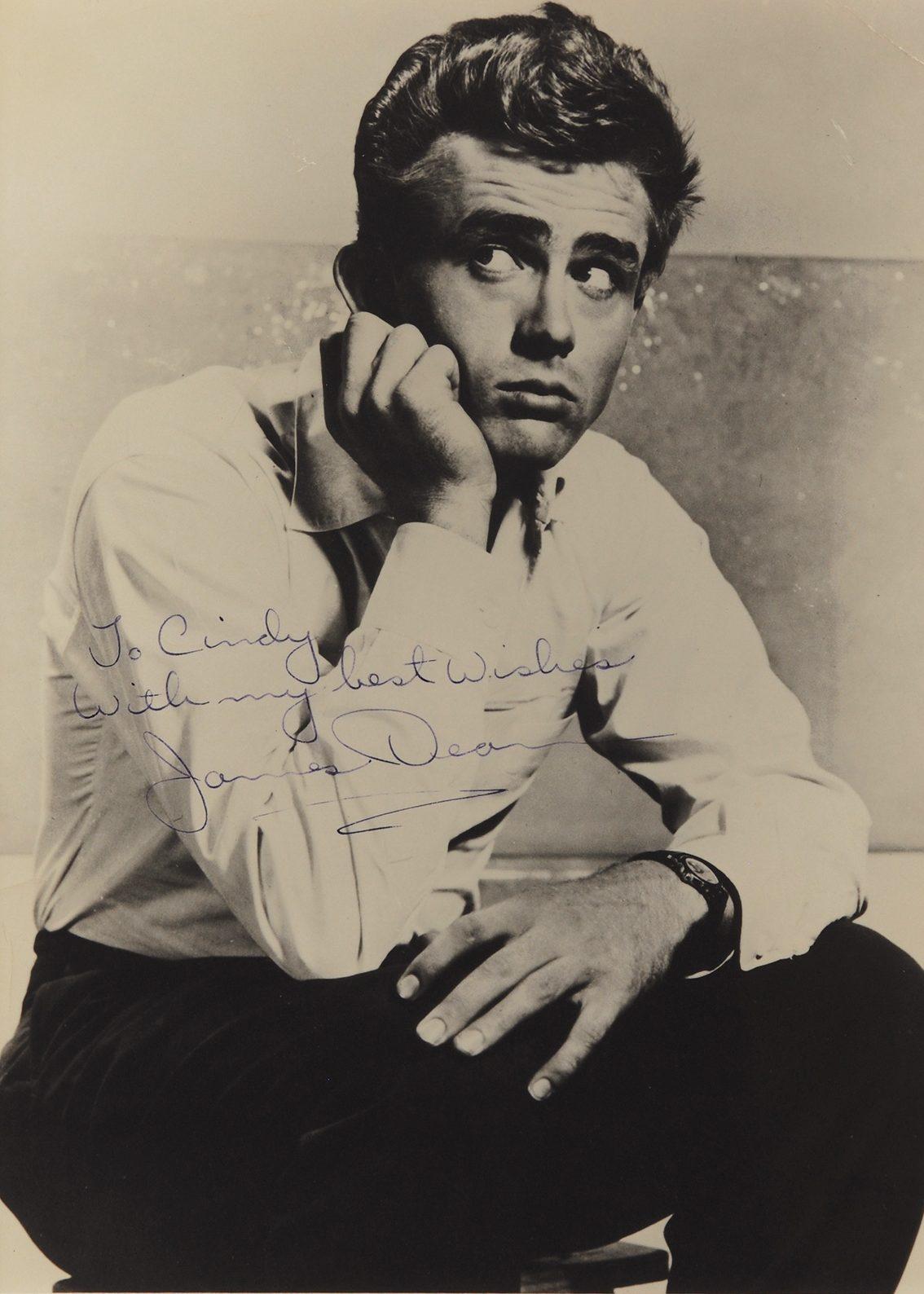 James Dean, Greta Garbo Among 250 Rare Hollywood Signed Photos Set for Auction