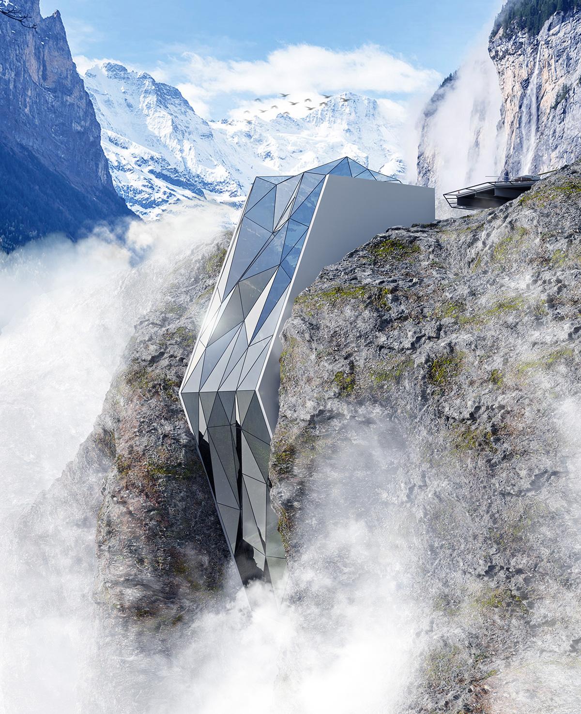 Cliffside Hotel Concept