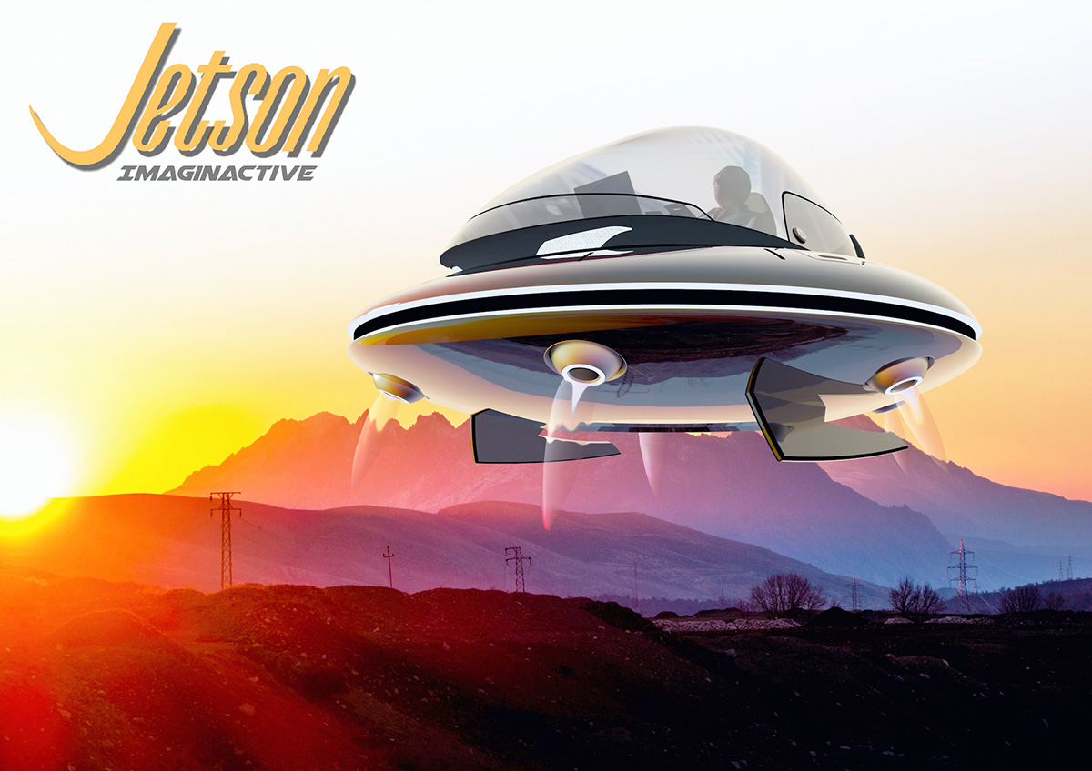 Imaginactive Unveils The Jetson A Personal Flying