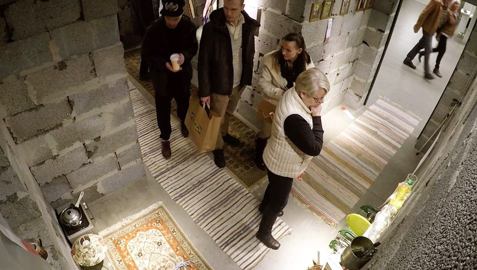 Why IKEA Put a Replica of a Syrian Refugee's House in One of Its Stores