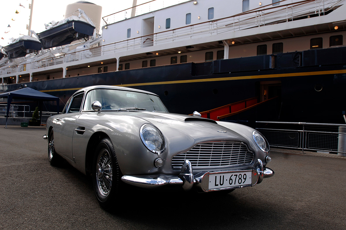 James Bond's 1964 Aston Martin DB5 From 'Goldfinger'