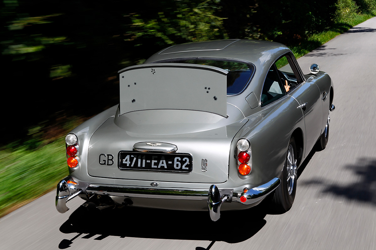 James Bond's 1964 Aston Martin DB5 From Goldfinger
