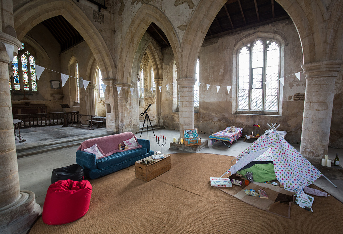 Champing in Medieval English Churches