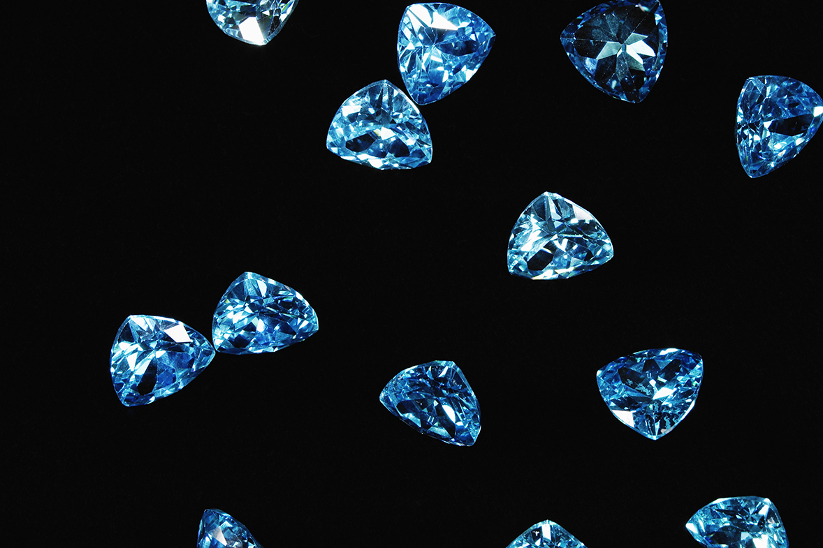 Sapphires are made of corundum, a mineral found in the clouds of HAT-P-7b. (David Arky/Corbis/Getty Images)