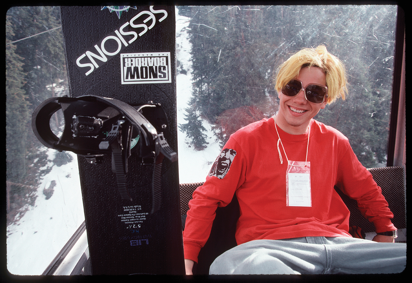 Jaime Lynn shot by Bud Fawcett, 1994 (From Snow Beach edited by Alex Dymond, published by powerHouse Books.)