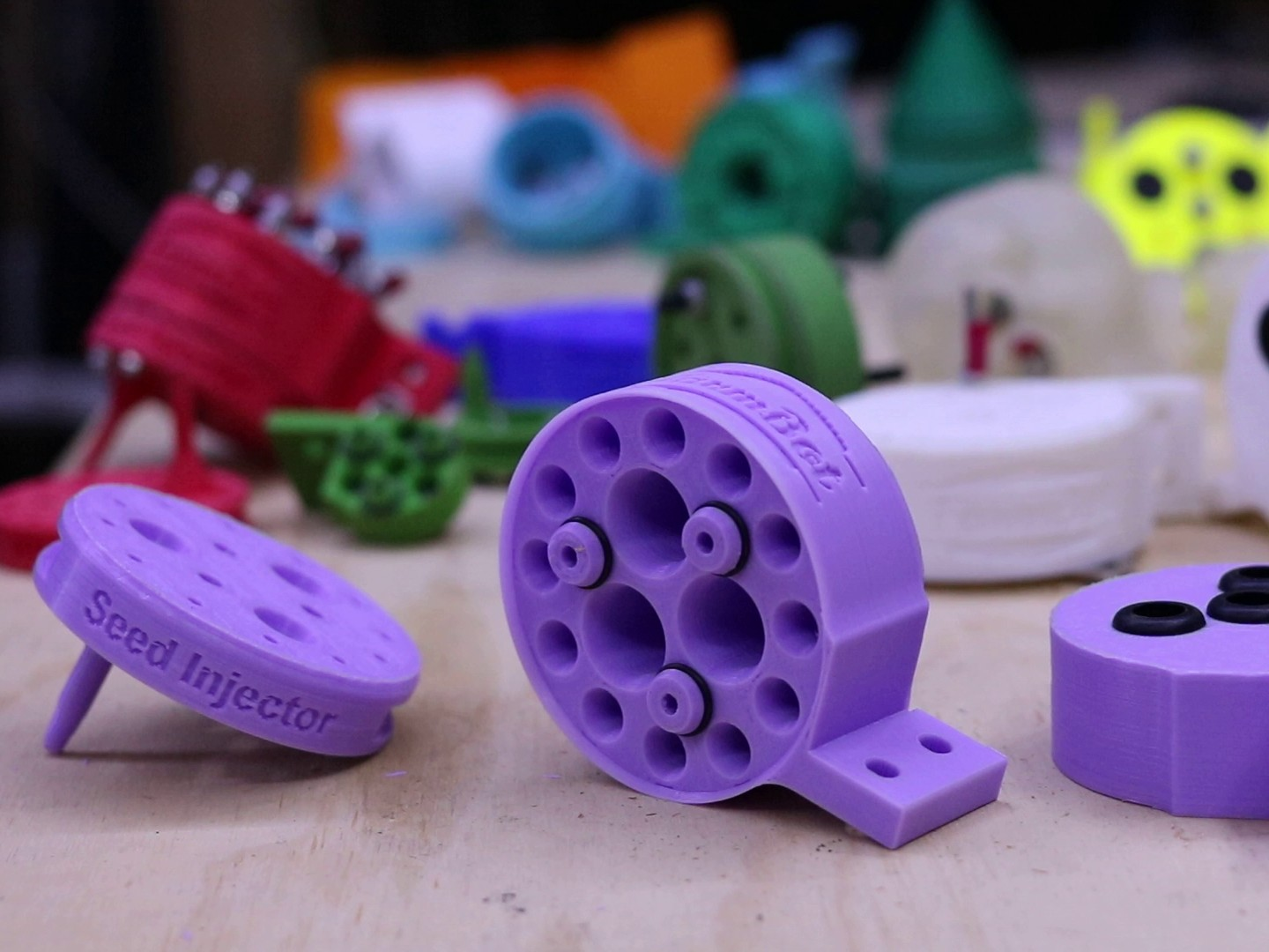 Spare parts can be 3D printed (Courtesy Farmbot)