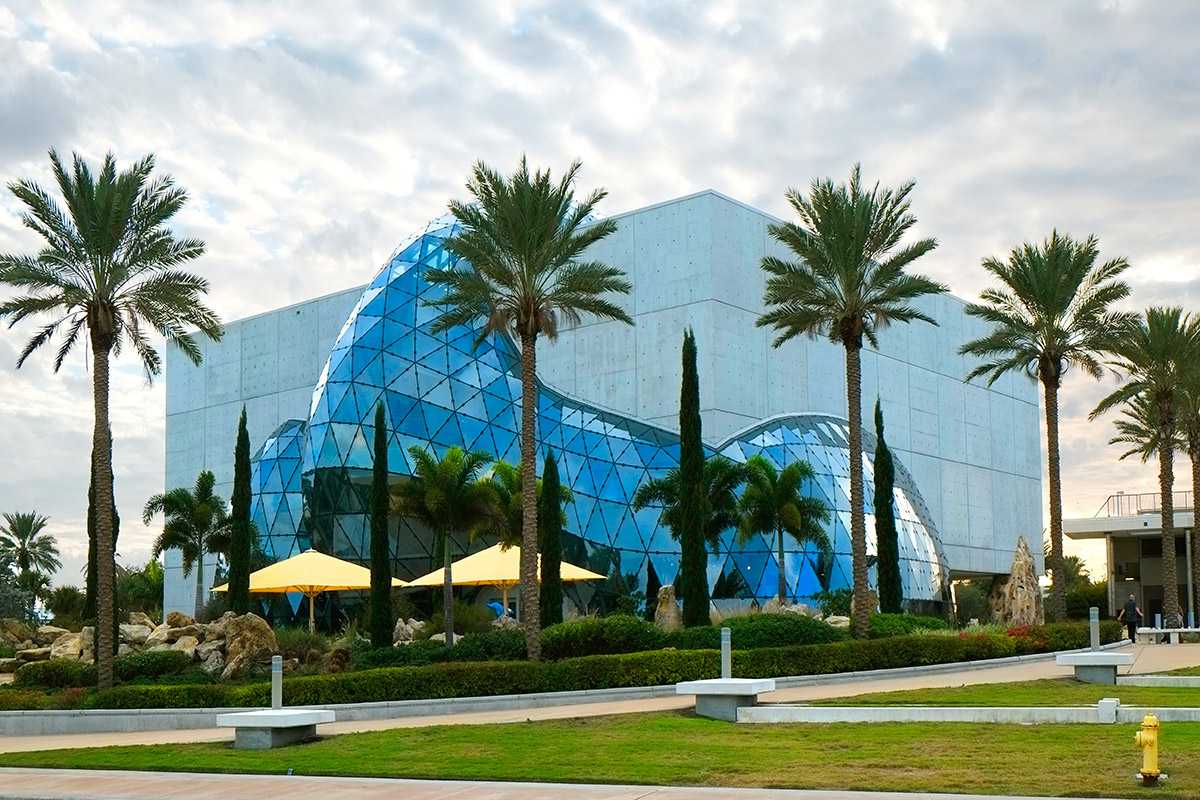 Then Salvador Dali Museum in St. Petersburg Florida FL ( Getty Images)
