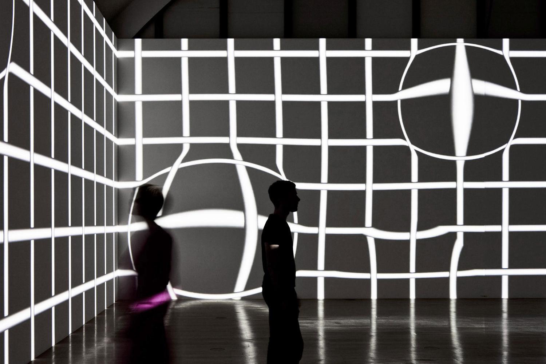 Schirn Kunsthalle, Frankfurt, 2010, Projektion (Atelier Kogler)