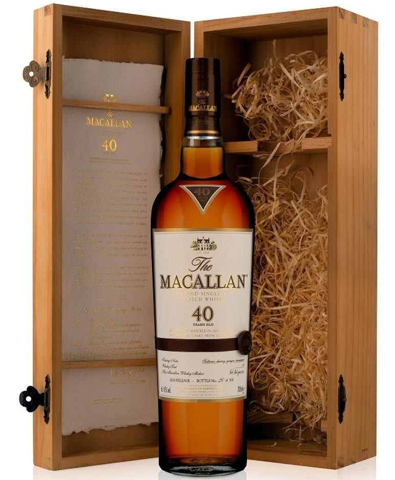 Macallan Releases Limited Run of 40-Year-Old Scotch for $6K a Bottle