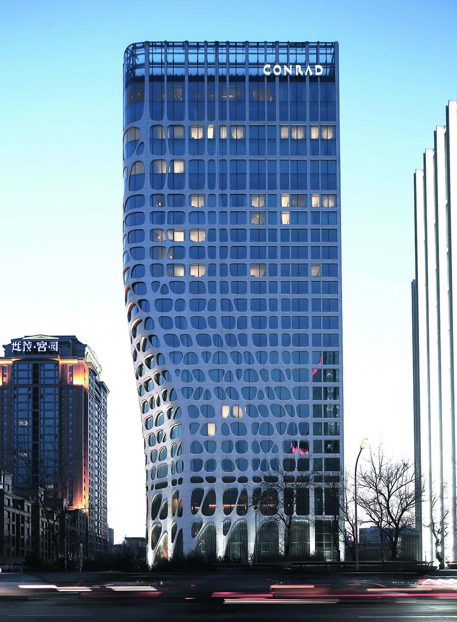 Beijing Conrad Hotel, 2008-2013, Beijing, China. (Shu He/Published by Phaidon)