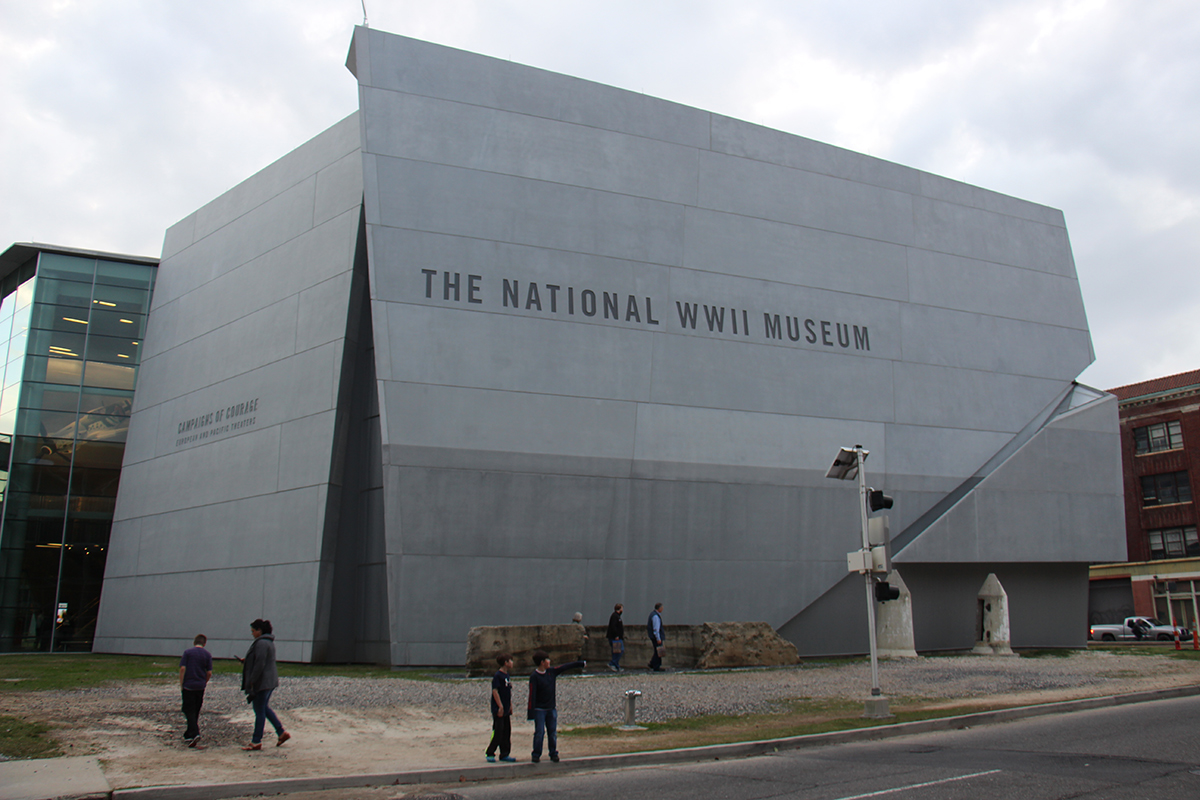 National World War II Museum - New Orleans, Louisiana (Connie Ma/Flickr)