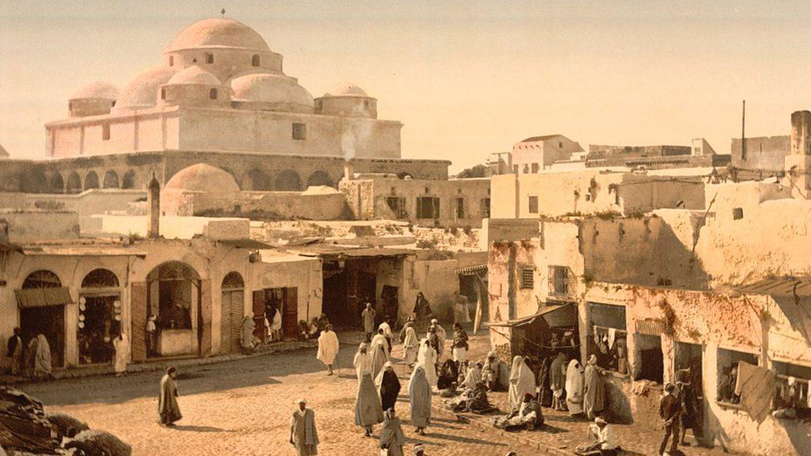 Vintage Postcards Show 19th-Century Tunisia in Color